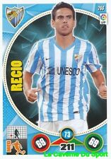 266 RECIO ESPANA MALAGA.CF CARD ADRENALYN 2015 PANINI