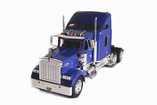 Welly 1:32 Kenworth W900 Semi Tractor Trailer Truck Diecast Model 32660 Violet