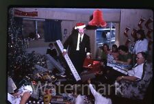 1968 35mm Photo slide  Christmas day Kids toys Jungle Book Colorforms