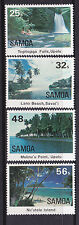 1984 Samoa Scenic Views - MUH Complete Set