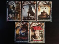 LOT 5 DVD HORREUR neuf SEVENTY FIVE Vanguard AFFAMES La Maison de l'Etrange BOST