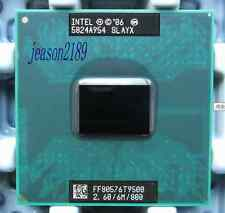 Intel Core 2 Duo T9500 2.6GHz 6M 800 CPU Laptop Processor Dual-Core TESTED CPU