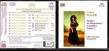 CD 1367  ANTONIO SOLER  SONATAS FOR HARPSICHORD