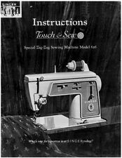 Singer 626-626E-626E1-626E6 Sewing Machine/Embroidery/Serger Owners Manual