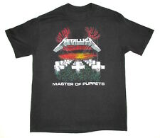 VINTAGE T SHIRT 80's Metallica MASTER OF PUPPETS Concert GARAGE DAYS Album Cover