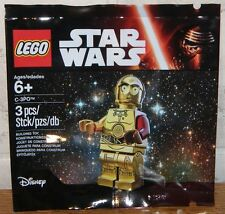 Lego Star Wars 2 x C-3PO C3PO Sammelfigur Sammeln + Spielen Polybag BLITZVERSAND