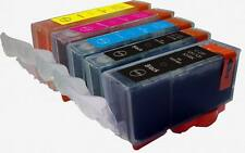 PGI220/CLI221 CANON EDIBLE INK Cartridges for MP560 MP980 MP990 Printer w/CHIP