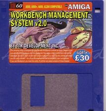 CU Amiga - Magazine Coverdisk 60 - Workbench Management System