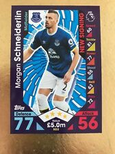 Match Attax Extra 16/17 Everton #NS12 Morgan Schneiderlin-New Signing Card
