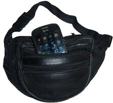 New Leather waist pouch waist bag leather bag Fanny pack leather strap bag BNWT