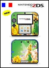 SKIN STICKER AUTOCOLLANT DECO POUR NINTENDO 2DS REF 74 FEE CLOCHETTE