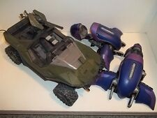 Halo Reach **WARTHOG & 2 x GHOST VEHICLE LOT OF 3** For 6 inch Figures