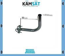 SATELLITE DISH BRACKET MOUNT KIT FOR BALCONY COURT APARTMENTS 500MM 50CM