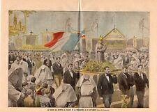 29 FOLGOET LE PARDON DES ENFANTS ET PROCESSION IMAGE 1902 PRINT