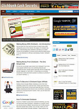 CLICKBANK SECRETS BLOG WEBSITE + AFFILIATE STORE + FREE DOMAIN AND HOSTING