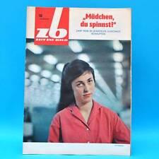 DDR Zeit im Bild ZB NBI 18/1965 Turnen Leinefelde Griechenland Tokio Spinnerei D