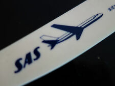 VINTAGE RERTO 60s ! SAS AIRLINES AIR MAIL ADVERTISING  LETTER KNIFE