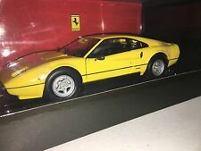 Kyosho 1:18 scale Ferrari 308 GTB Yellow  *ULTRA RARE*