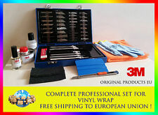 Complete PRO tools set for vinyl wrap: 3M Primer + squeegee+gloves XL (9)+knifes