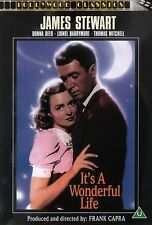 It's A Wonderful Life (DVD) Classic B&W Christmas Movie - Brand New Sealed