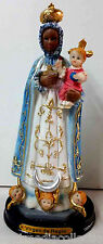 STATUE - Virgen De Regla / Virgin Of Regla SCULPTURE 8 Inch 7028-8 BRAND NEW