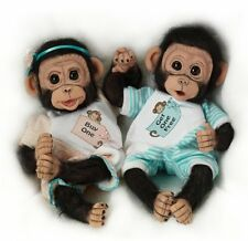 Ashton Drake - BUY ONE GET ONE FREE monkey doll twins by Cindy Sales