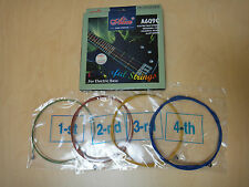 Alice A609C 4-String Electric Bass Guitar Strings,Multi-colored, 0.04~0.095 inch