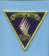 CVW-5 CARRIER AIR WING FIVE US Navy Ship Squadron Jacket Patch