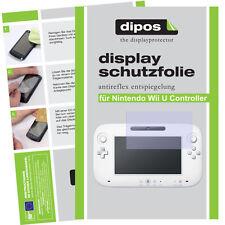 2x Nintendo Wii U Controller Schutzfolie matt Displayschutzfolie Antireflex