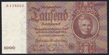 GERMANY 1000 REICHSMARK 1936 P-184   aUNC