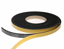 EPDM Single Sided Foam Sealing Tape, Draught Excluder 13mm x 3mm x 8.33m