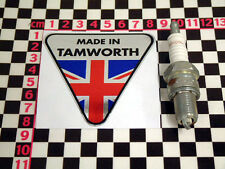 Made in Tamworth Chrome Sticker - Reliant Robin Fox Scimitar Sabre Rebel Kitten