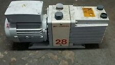 Edwards 28 E2M28 Dual Stage Rotary Vane Mechanical Free Standing Vacuum Pump