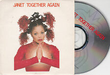 CD CARTONNE CARDSLEEVE 2 TITRES TOGETHER AGAIN JANET JACKSON DE 1997