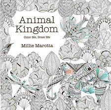 Lark Crafts Animal Kingdom: Color Me, Draw Me by Millie Marotta(2014, Paperback)