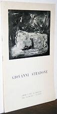 Giovanni Stradone catalogo Roma La Barcaccia 1978