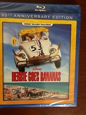 DISNEY HERBIE GOES BANANAS 35TH ANN. NEW SEALED DMC BLU-RAY EXCLUSIVE FREE S/H