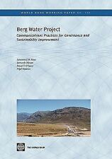 Berg Water Project: Communication Practices for Governance and Sustainability Im