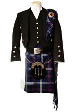 DELUXE FLY PLAID FOR KILT OUTFITS - SCOTTISH TARTAN - HERITAGE OF SCOTLAND