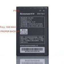 Lenovo Battery BL203 For LENOVO A66 A278T A365E A308T A369 A396 (BL-203) 1500mah