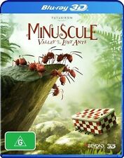 Minuscule - The Valley Of The Lost Ants 3D : NEW Blu-Ray 3-D
