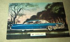 1960  CADILLAC  - Sanitarium Weetbix New Zealand Swap Card - RARE