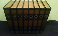 THE BOOK OF LIFE 8 Volume Set 1925 3rd Edition Bible Stories Study HC Dark Blue