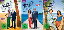 12 DVDs * DEATH IN PARADISE - STAFFEL 1 - 3 IM SET # NEU OVP &