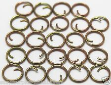 """Small Mil Spec 7/16"""" = 13mm Zinc Button Rings fasteners NO SEW lot of 24 B115"""