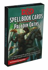 Dungeons & Dragons-D&D-SPELLBOOK CARDS-PALADIN OATHS-24 Cards-Deck-engl.-new