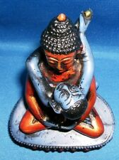 Buddha Shakti Tantra Yab Yum Blue and Multi Color Resin Statue #CL107