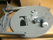 "NEW NEW! DIRECTV 18"" SATELLITE 101W DIRECTV DUAL LNB 18"" DISH/ LONG MAST NON HD"