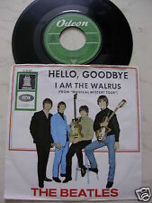 THE BEATLES Hello,Goodbye / I Am The Walros *BARHOCKER COVER*GREEN ODEON O23660*