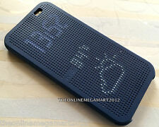 Imported BLUE DOT View Smart Interactive Flip Case,Cover for HTC One M8 2014